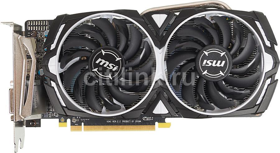 Видеокарта MSI AMD  Radeon RX 570 ,  Radeon RX 570 ARMOR 8G OC,  8Гб, GDDR5, OC,  Ret