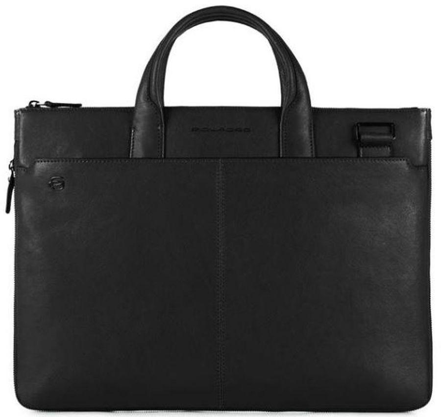 Сумка для ноутбука Piquadro Black Square CA4021B3/N черный натур.кожа