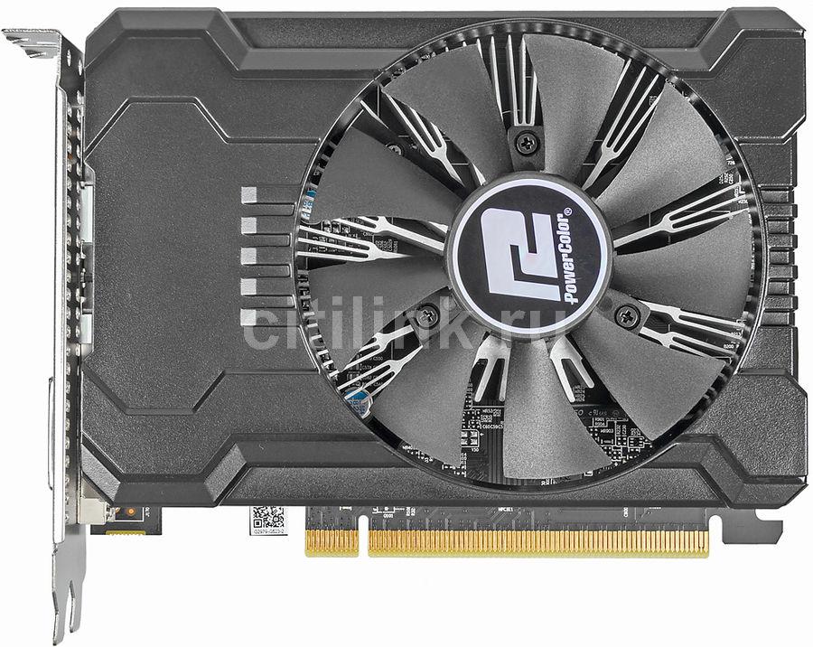 Видеокарта POWERCOLOR AMD  Radeon RX 550 ,  AXRX 550 2GBD5-DHA/OC,  2Гб, GDDR5, OC,  Ret