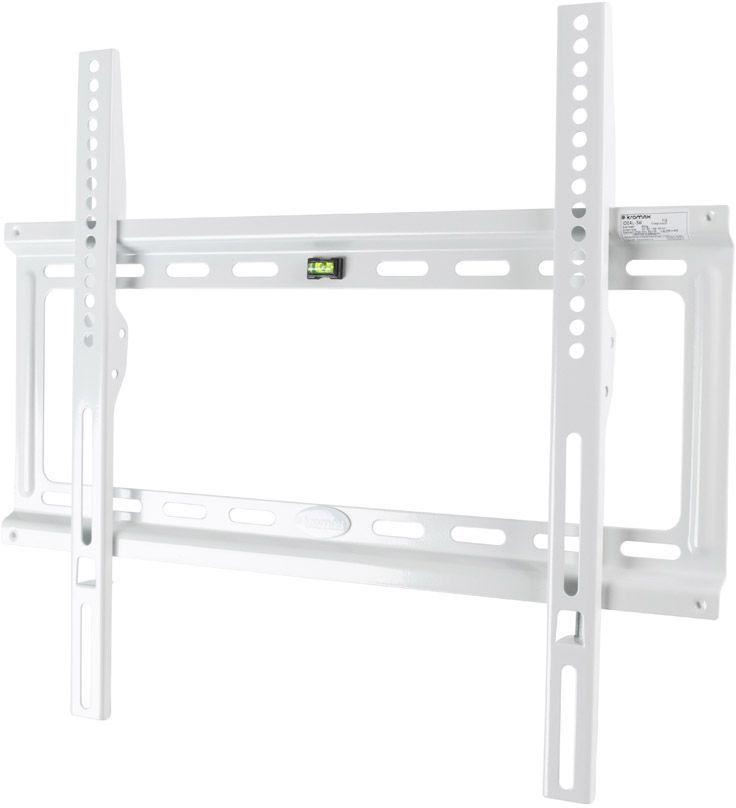 "Кронштейн для телевизора Kromax IDEAL-3 белый 22""-65"" макс.50кг настенный фиксированный"