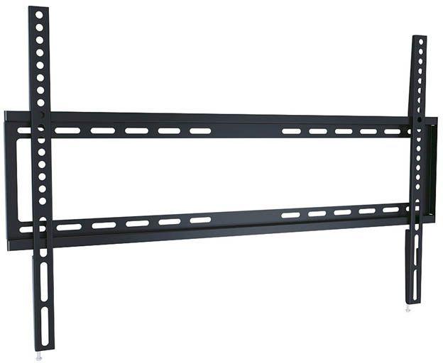 """Кронштейн для телевизора Ultramounts UM 814F черный 37""""-70"""" макс.35кг настенный фиксированный"""
