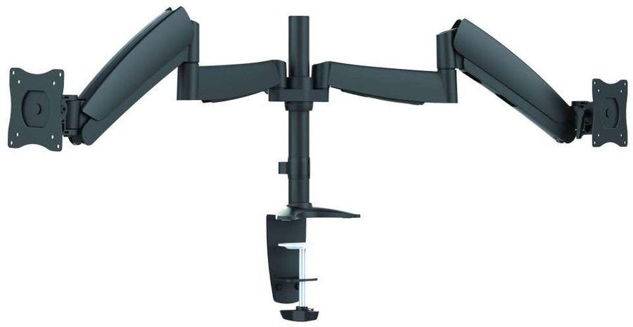 """Кронштейн для мониторов Ultramounts UM 703 черный 13""""-27"""" макс.9кг настольный поворот и наклон верт."""