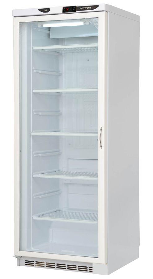 Холодильная витрина САРАТОВ 502-02 (КШ - 250),  однокамерный, белый