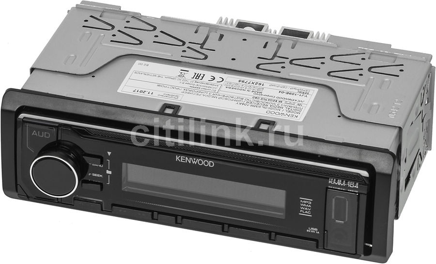 Автомагнитола KENWOOD KMM-104AY, USB автомагнитола usb sd kenwood kmm 361sd