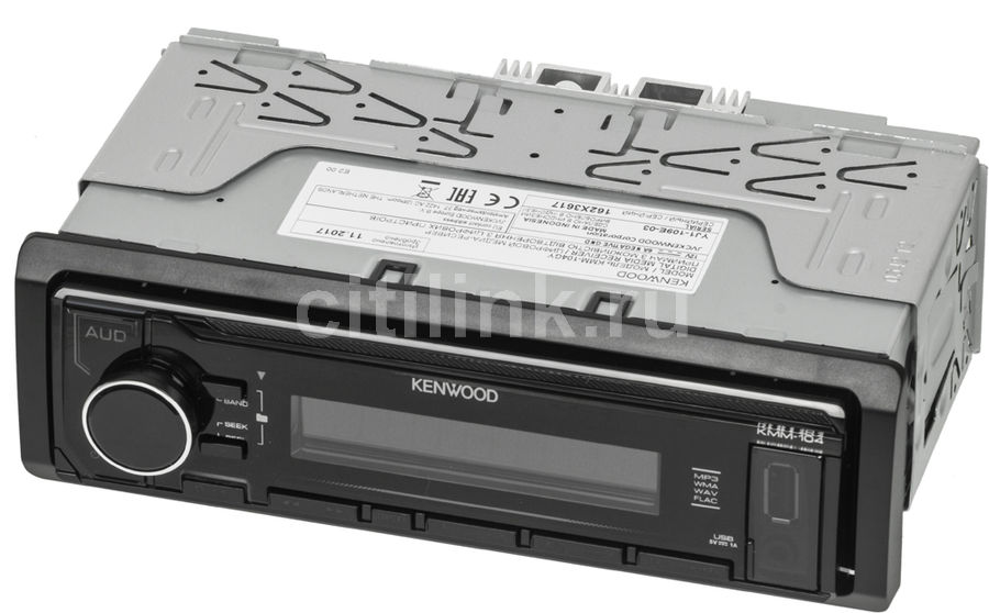 Автомагнитола KENWOOD KMM-104GY, USB автомагнитола usb sd kenwood kmm 361sd