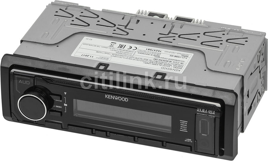Автомагнитола KENWOOD KMM-104RY, USB автомагнитола usb kenwood kmm 103gy