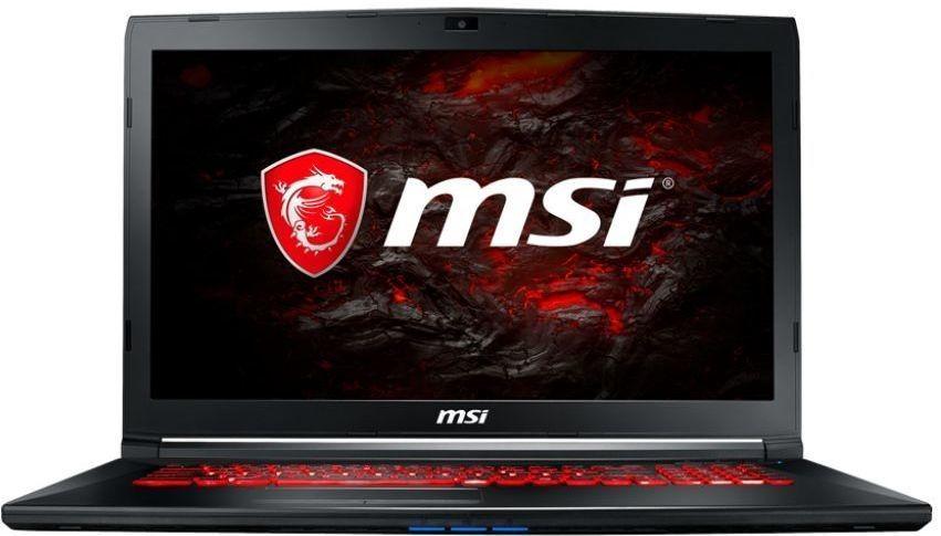 """Ноутбук MSI GL72M 7RDX-1488RU, 17.3"""",  Intel  Core i5  7300HQ 2.5ГГц, 8Гб, 1000Гб,  128Гб SSD,  nVidia GeForce  GTX 1050 - 2048 Мб, Windows 10, 9S7-1799E5-1488,  черный"""