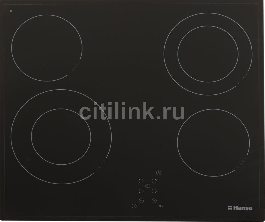 Варочная панель HANSA BHC66506,  Hi-Light,  независимая,  черный
