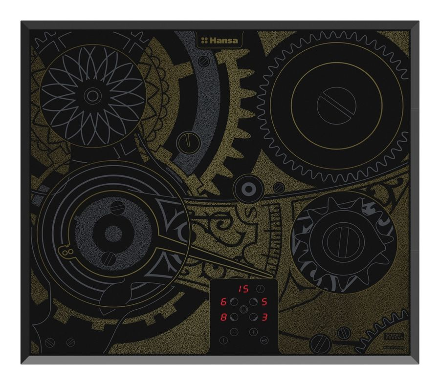 Варочная панель HANSA BHC66505,  Hi-Light,  независимая,  черный