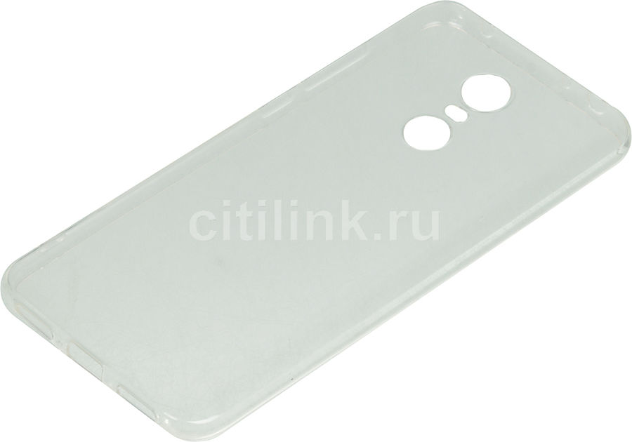 Чехол (клип-кейс) DF xiCase-24, для Xiaomi Redmi 5 Plus, прозрачный