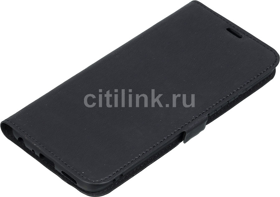 Чехол (флип-кейс) DF hwFlip-31, для Huawei P Smart, черный