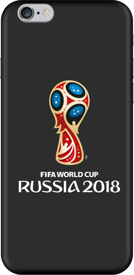 Чехол (клип-кейс) DEPPA FIFA Official Emblem, для Apple iPhone 6/6S, черный [103868]