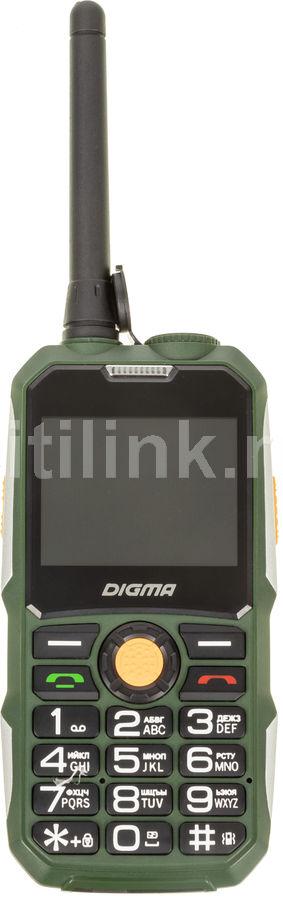 Мобильный телефон DIGMA Linx A230WT 2G,  темно-зеленый