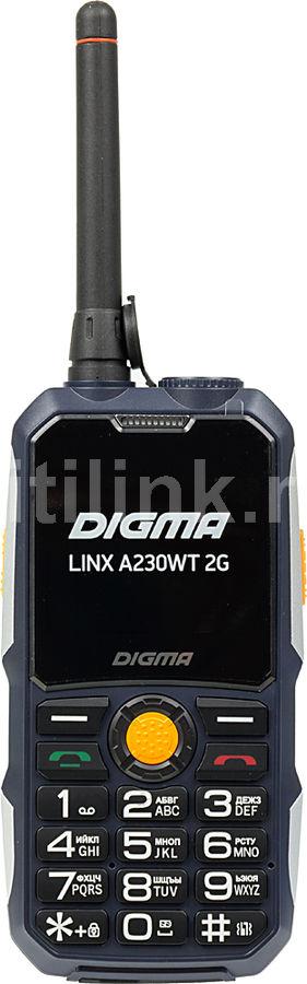 Мобильный телефон DIGMA Linx A230WT 2G,  темно-синий