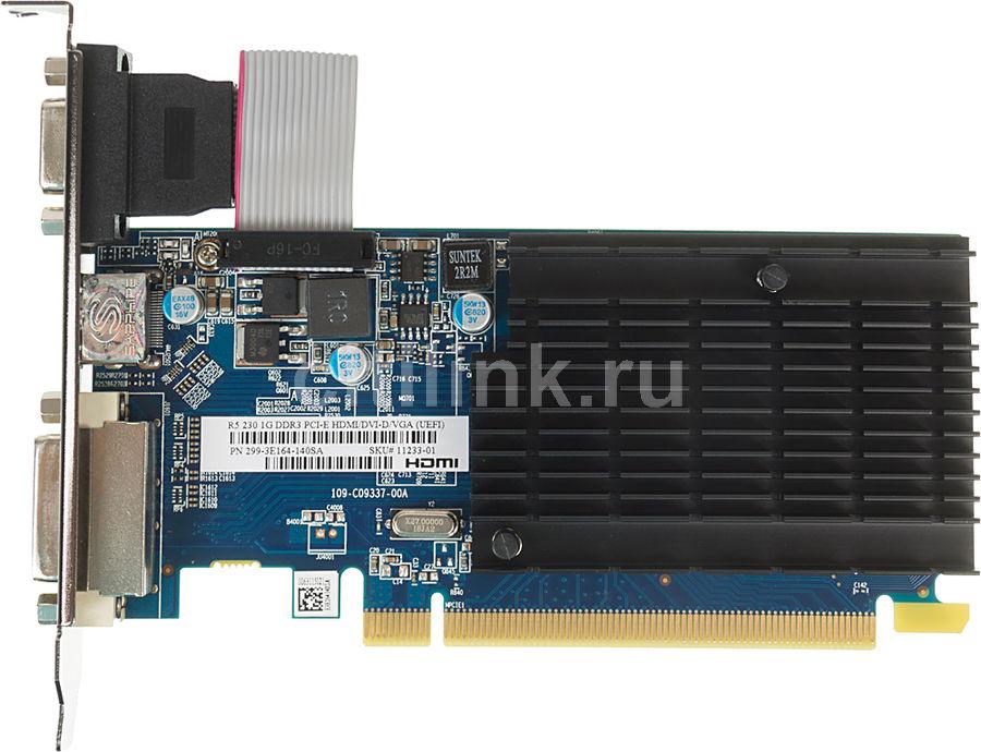 Видеокарта SAPPHIRE AMD  Radeon R5 230 ,  11233-01-10G,  1Гб, DDR3, Bulk