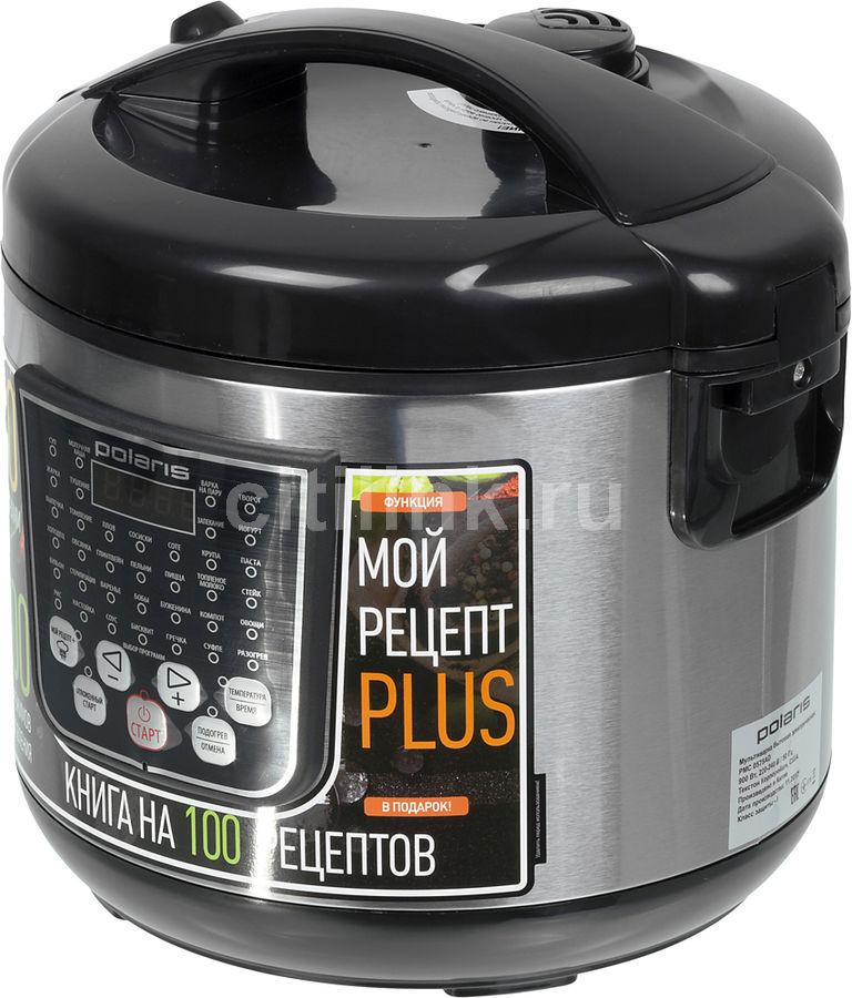 Мультиварка POLARIS PMC 0575AD,  900Вт,   черный/серебристый