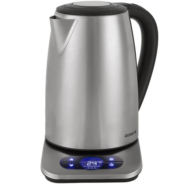 Чайник электрический POLARIS PWK 1788CAD, 2200Вт, серебристый