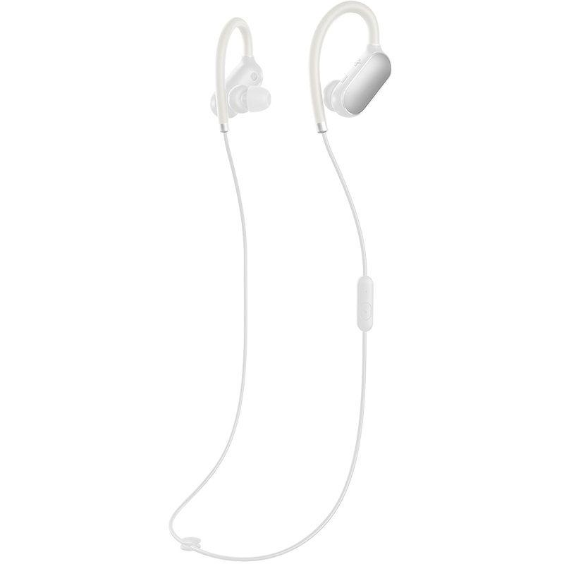 Наушники с микрофоном XIAOMI Mi Sports, Bluetooth, белый [zbw4331cw/zbw4379gl]