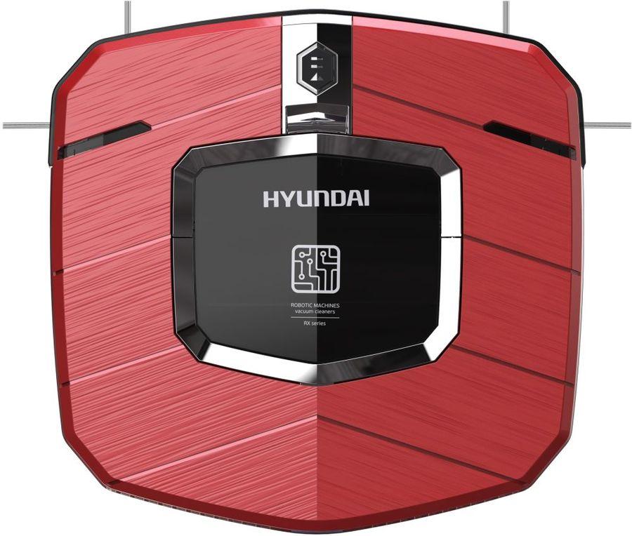 Робот-пылесос HYUNDAI H-VCRX50, 10.8Вт, красный/черный