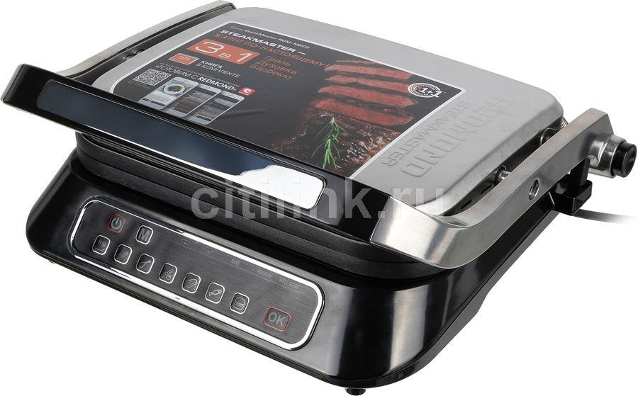 Электрогриль REDMOND SteakMaster RGM-M805,  черный и серебристый