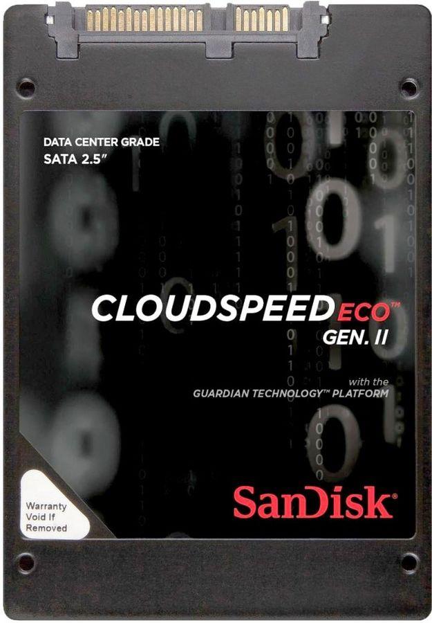 "SSD накопитель SANDISK CloudSpeed II Eco SDLF1DAR-480G-1JA2 480Гб, 2.5"", SATA III"