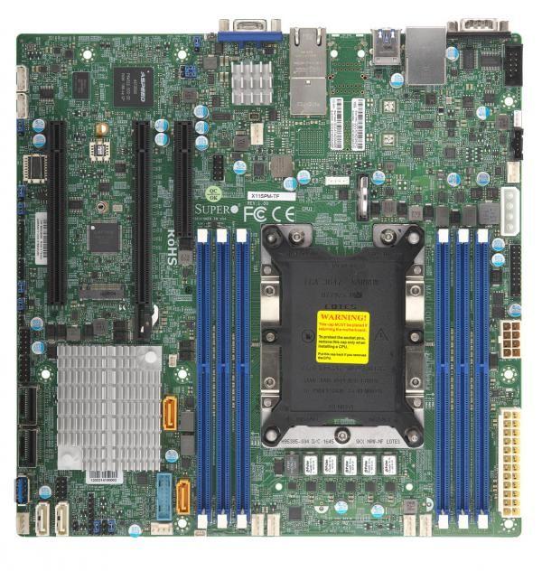 Серверная материнская плата SUPERMICRO MBD-X11SPM-TF-O,  Ret