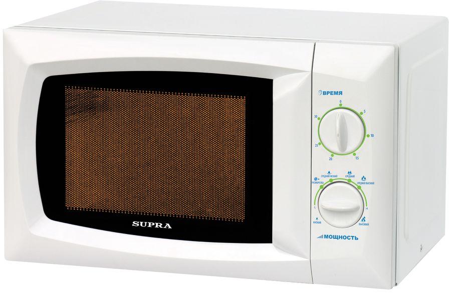 Микроволновая Печь Supra 18MW20 18л. 700Вт белый (отремонтированный)