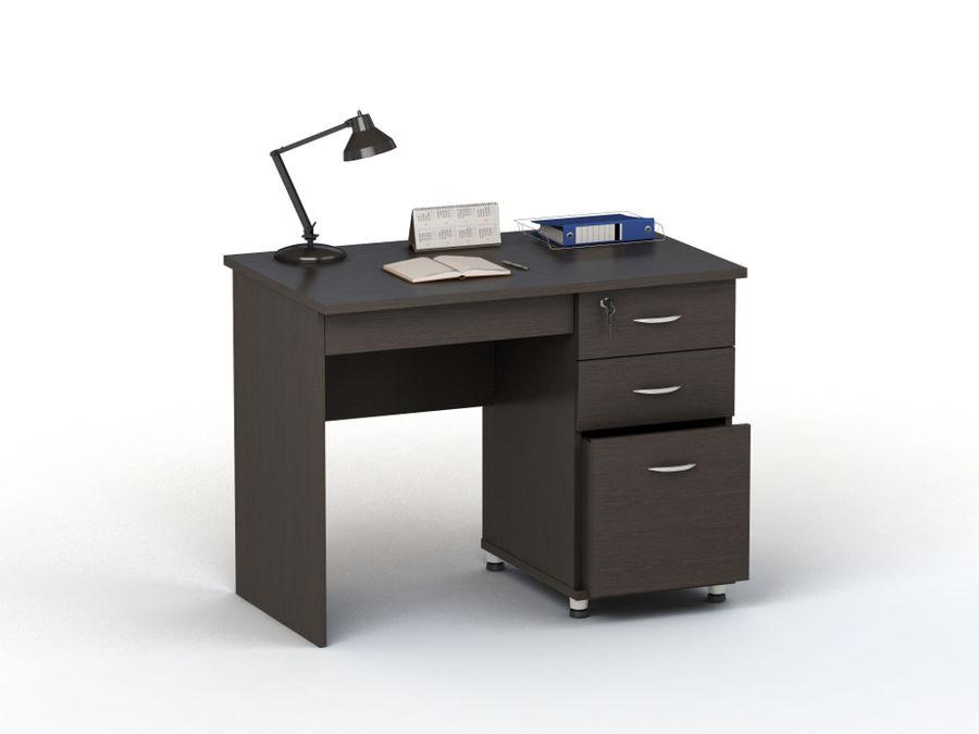 Стол компьютерный  ВАСКО ПС 40-03,  ЛДСП,  венге