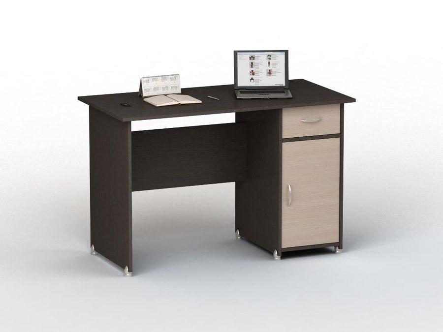 Стол компьютерный  ВАСКО ПС 40-08 М1,  ЛДСП,  венге