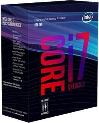 Процессор INTEL Core i7 8700K, LGA 1151v2 BOX [bx80684i78700k s r3qr] компьютер dell optiplex 5050 intel core i3 7100t ddr4 4гб 128гб ssd intel hd graphics 630 linux черный [5050 8208]