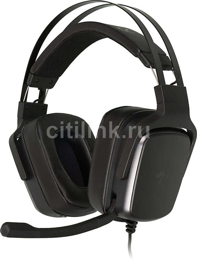 Наушники с микрофоном RAZER Tiamat 2.2 V2,  мониторы, черный  [rz04-02080100-r3m1]