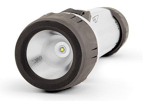 Универсальный фонарь ЯРКИЙ ЛУЧ S-140 SilverLine, серебристый / черный