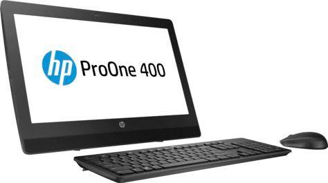 "Моноблок HP ProOne 400 G3, 20"", Intel Celeron G3900T, 4Гб, 500Гб, Intel HD Graphics 510, Free DOS, черный [2vs22es]"