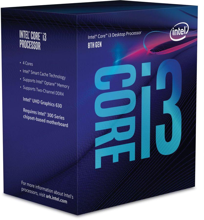 Процессор INTEL Core i3 8300, LGA 1151v2,  BOX [bx80684i38300  s r3xy]