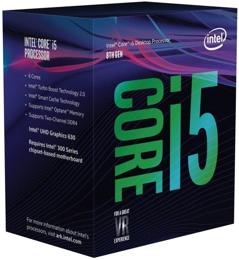 Процессор INTEL Core i5 8500, LGA 1151v2 BOX [bx80684i58500  s r3xe]