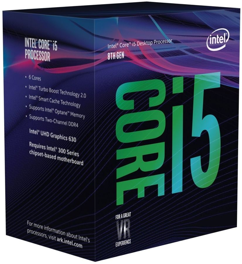 Процессор INTEL Core i5 8600, LGA 1151v2 BOX [bx80684i58600 s r3x0] компьютер dell optiplex 5050 intel core i3 7100t ddr4 4гб 128гб ssd intel hd graphics 630 linux черный [5050 8208]