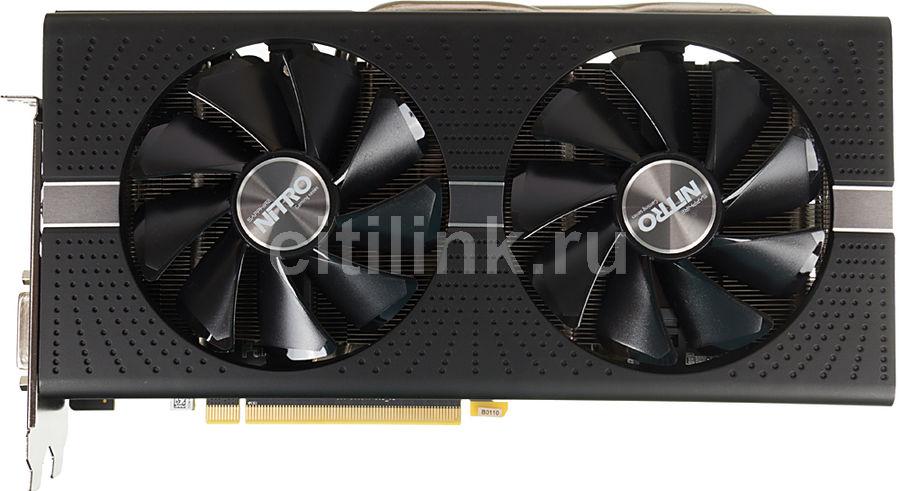 Видеокарта SAPPHIRE AMD  Radeon RX 580 ,  11265-31-20G NITRO+ RX 580 4G,  4Гб, GDDR5, Ret