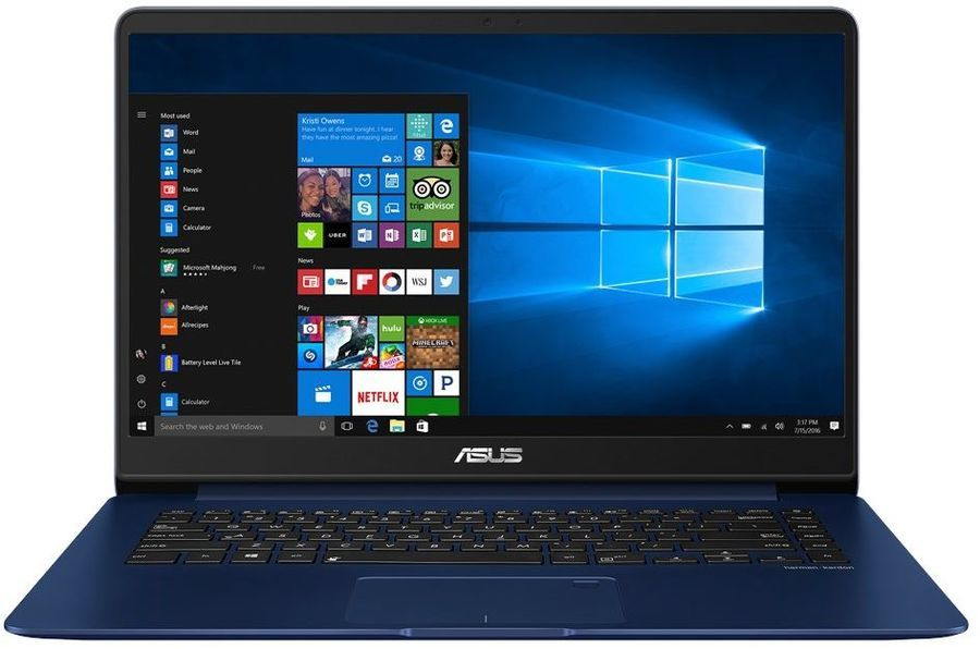 Ноутбук ASUS Zenbook UX530UQ-FY034R, 15.6, Intel Core i5 7200U 2.5ГГц, 8Гб, 512Гб SSD, nVidia GeForce 940MX - 2048 Мб, Windows 10 Professional, 90NB0EG2-M01330, темно-синий asus asus zenbook ux303ub 13 3 4гб ssd wi fi bluetooth intel core i5