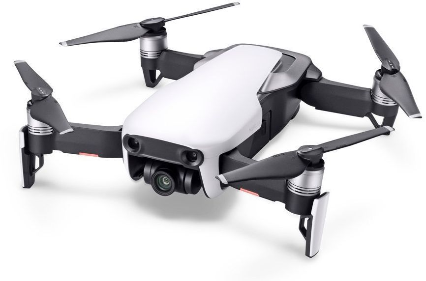 Квадрокоптер DJI Mavic AIR Fly More Combo с камерой, белый квадрокоптер dji mavic air fly more combo eu arctic white