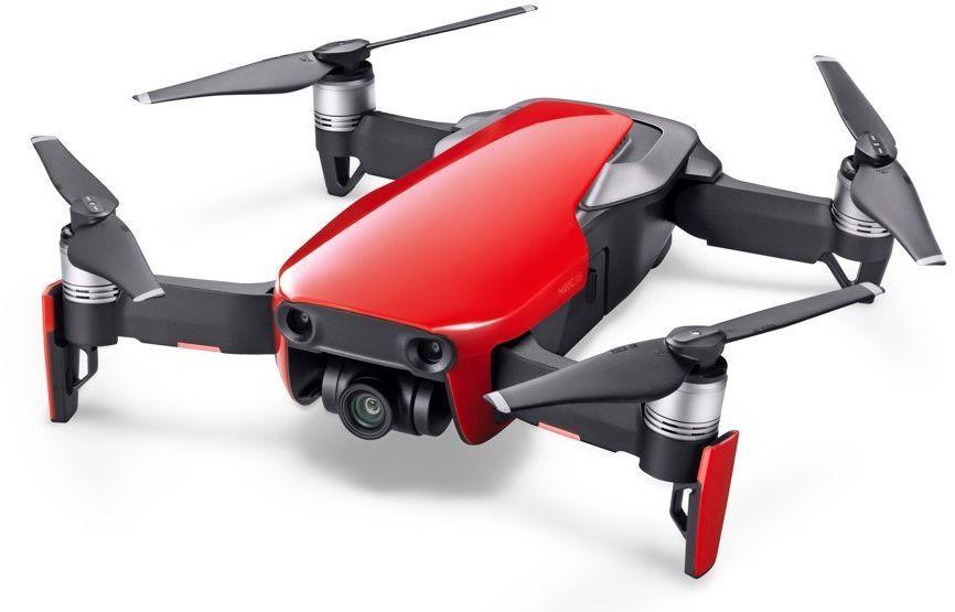 Квадрокоптер DJI Mavic AIR Fly More Combo с камерой,  красный