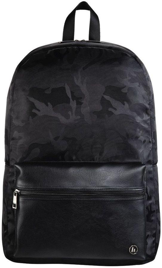 """Рюкзак 15.6"""" HAMA Mission Camo, черный/камуфляж [00101599]"""