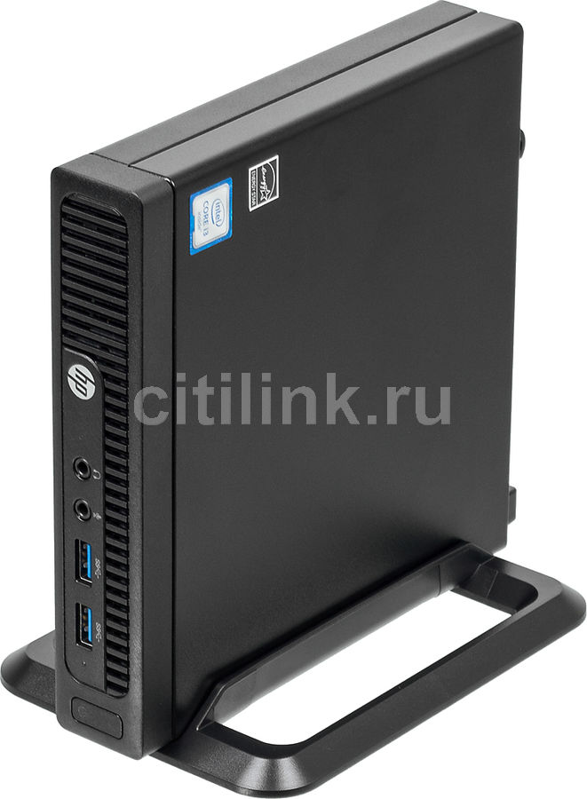 Компьютер HP 260 G2, Intel Core i3 6100U, DDR4 4Гб, 128Гб(SSD), Intel HD Graphics 520, Windows 10 Home, черный [3ku77es] new intel core i3 7100u i5 7200u fanless intel skylake mini pc intel hd graphics 620 4k hdmi vga usb3 0 sd card desktop computer
