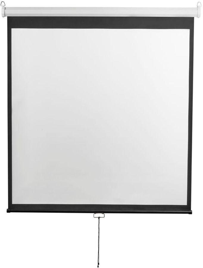 Экран  Digis Optimal-D DSOD-1105,  200х200 см, 1:1,  настенно-потолочный