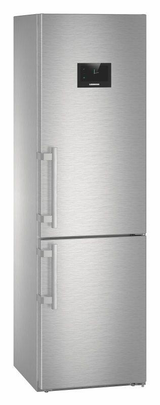 Холодильник LIEBHERR CNPes 4868,  двухкамерный, нержавеющая сталь