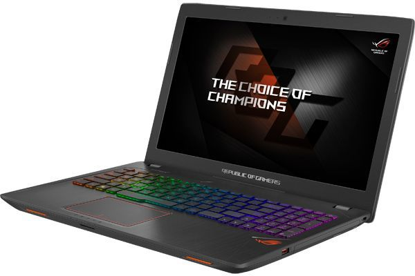 Ноутбук ASUS ROG GL553VD-DM203T, 15.6, Intel Core i5 7300HQ 2.5ГГц, 8Гб, 1000Гб, nVidia GeForce GTX 1050 - 2048 Мб, DVD-RW, Windows 10, 90NB0DW3-M09690, черныйНоутбуки<br>экран: 15.6;  разрешение экрана: 1920х1080; процессор: Intel Core i5 7300HQ; частота: 2.5 ГГц (3.5 ГГц, в режиме Turbo); память: 8192 Мб, DDR4; HDD: 1000 Гб, 5400 об/мин; nVidia GeForce GTX 1050 - 2048 Мб; DVD-RW; WiFi;  Bluetooth; HDMI; WEB-камера; Windows 10<br><br>Линейка: ROG