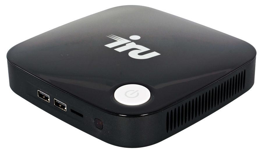 Неттоп  IRU 317,  Intel  Celeron  J3160,  DDR3L 4Гб, 60Гб(SSD),  Intel HD Graphics 400,  CR,  Windows 10 Professional,  черный [1033374]
