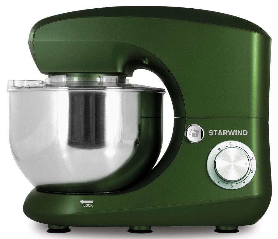 Миксер STARWIND SPM5185, с чашей,  зеленый