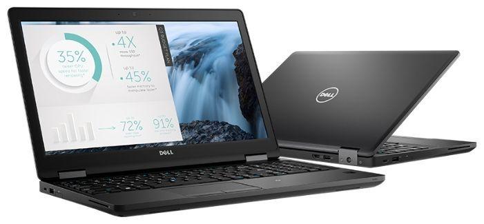 """Ноутбук DELL Latitude 5580, 15.6"""",  IPS, Intel  Core i5  6300U 2.4ГГц, 8Гб, 1000Гб,  Intel HD Graphics  520, Windows 10 Professional, 5580-6171,  черный"""