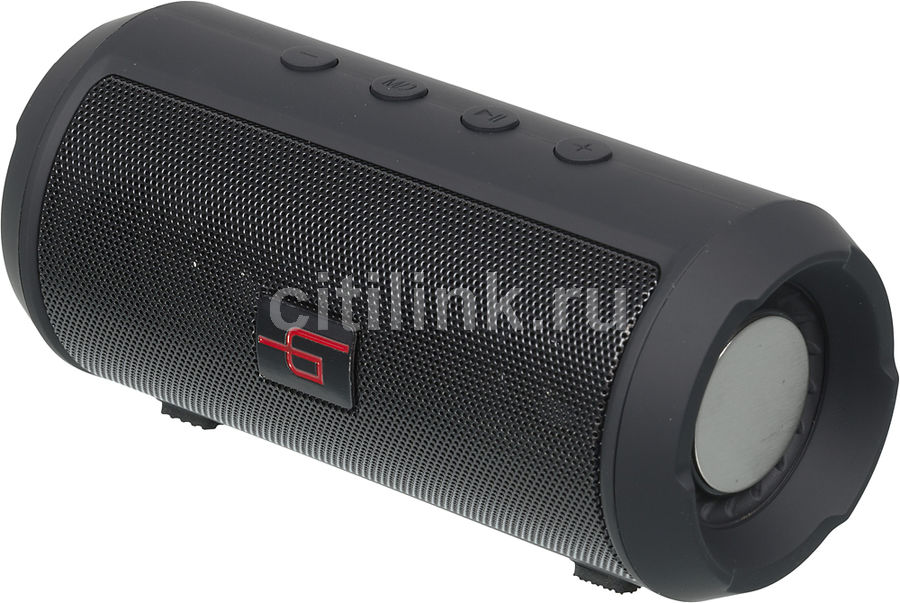 Портативная колонка GINZZU GM-894B, 6Вт, черный hyperps bluetooth wireless mini portable super bass speaker with built in mp3 player supporting to play from micro sd card usb thumb drive