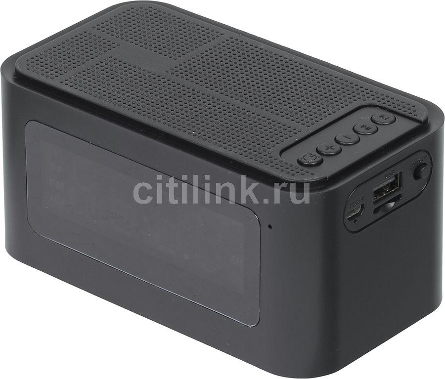 Портативная колонка GINZZU GM-881B,  3Вт, черный